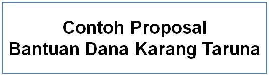 proposal karang taruna