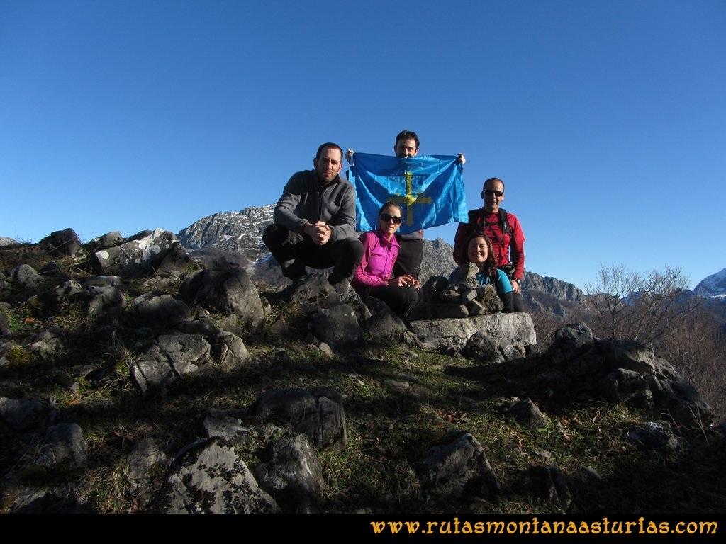 Pico Mosquito desde Tarna: Cima del pico Mosquito