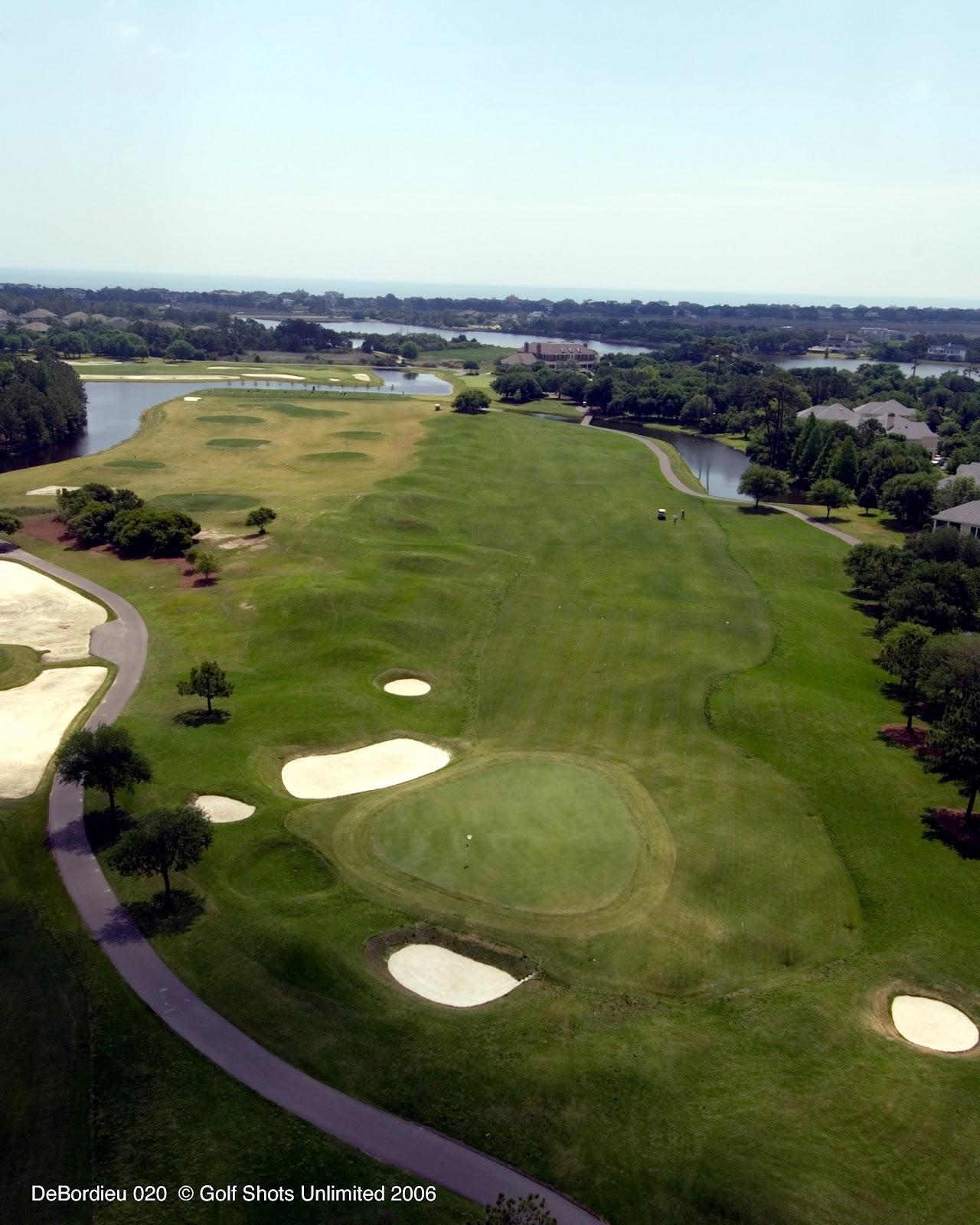 Golf Course Clubhouse Interior Design Ideas: DeBordieu Golf Club Hole #1