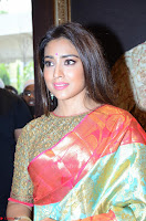 Shriya Saran Looks Stunning in Silk Saree at VRK Silk Showroom Launch Secundrabad ~  Exclusive 104.JPG