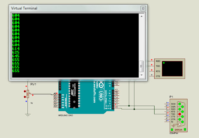 How to read analog signal into Arduino