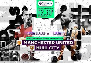RCTI Siarkan Langsung Manchester United vs Hull City 2 Februari 2017