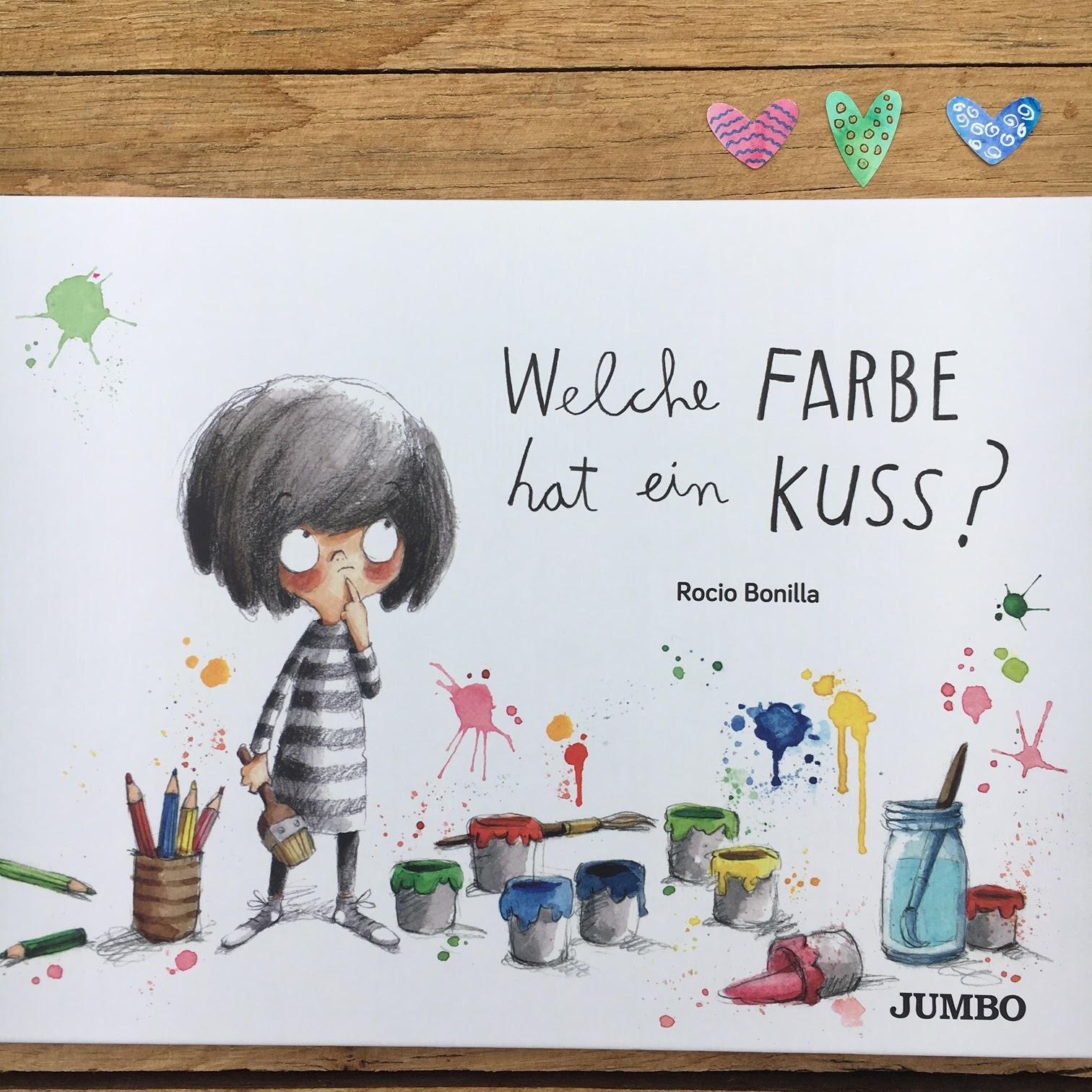 Kinderbuchblog Familienbucherei Welche Farbe Hat Ein Kuss