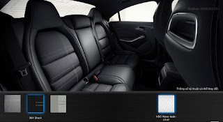 Nội thất Mercedes CLA 200 2016 màu Đen 361