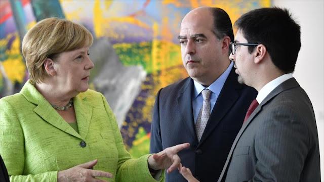 Merkel confirma posibilidad de sanciones de UE contra Venezuela