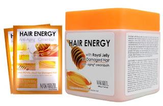 Cream Creambath Makarizo Hair Energy