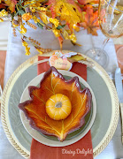 Thanksgiving Tablescape for a Small Gathering