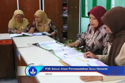 Berikut Jadwal Pendaftaran Calon PPPK (P3K) untuk Guru Honorer tahun 2019