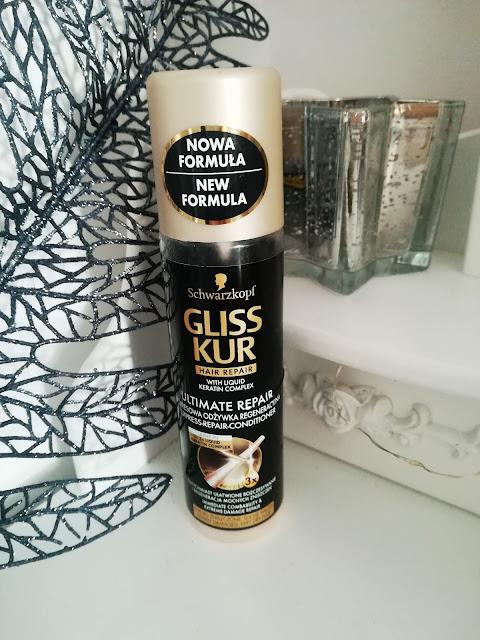 Ekspresowa regeneracyjna odżywka do włosów - Schwarzkopf Gliss Kur Ultimate Repair