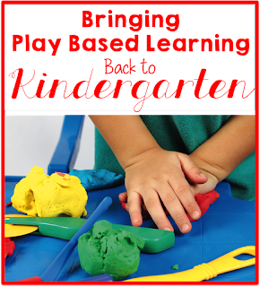 Learning through play: Let children learn through play in kindergarten.