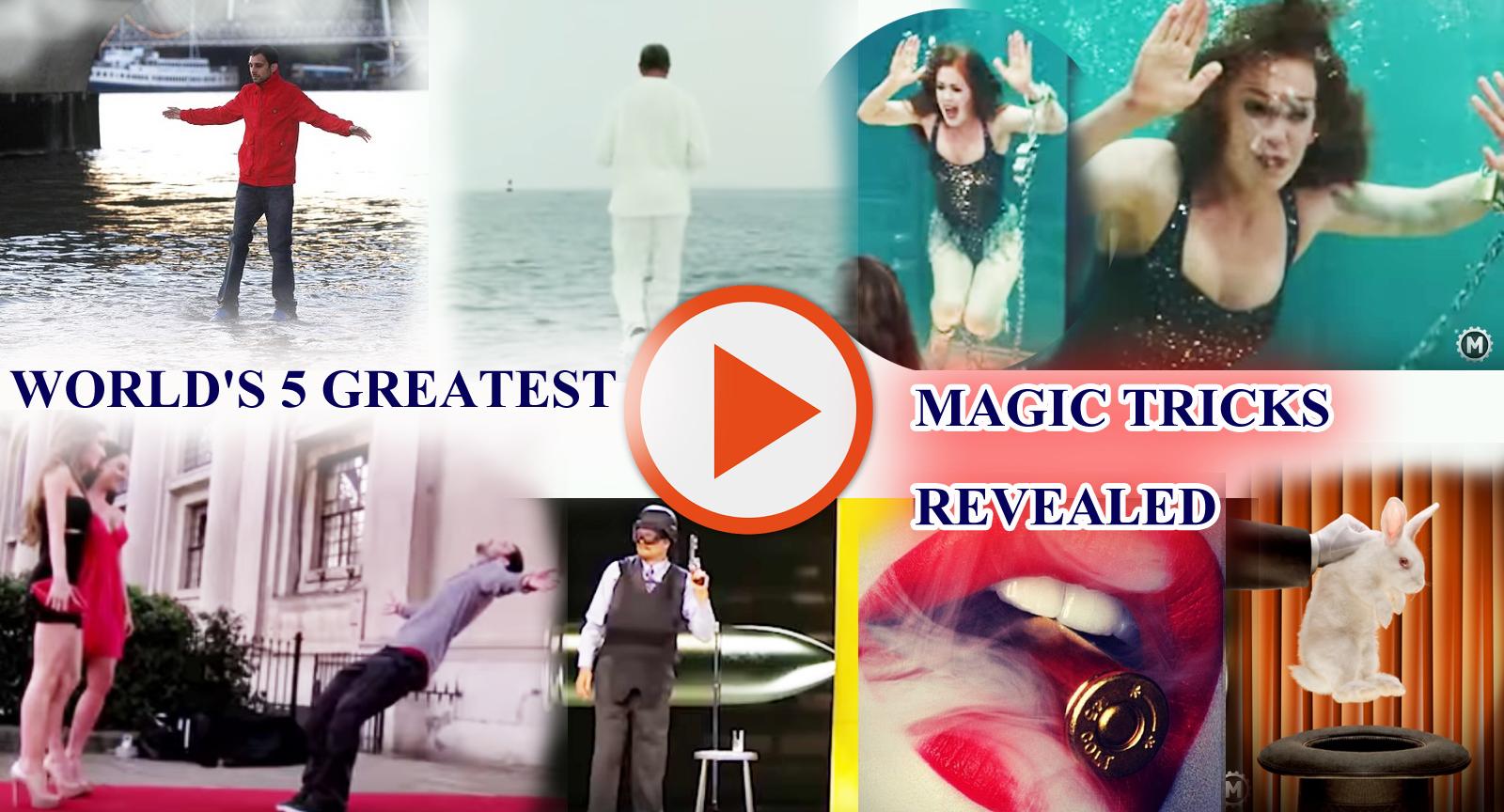 Magician Dynamo Revealed Secrets