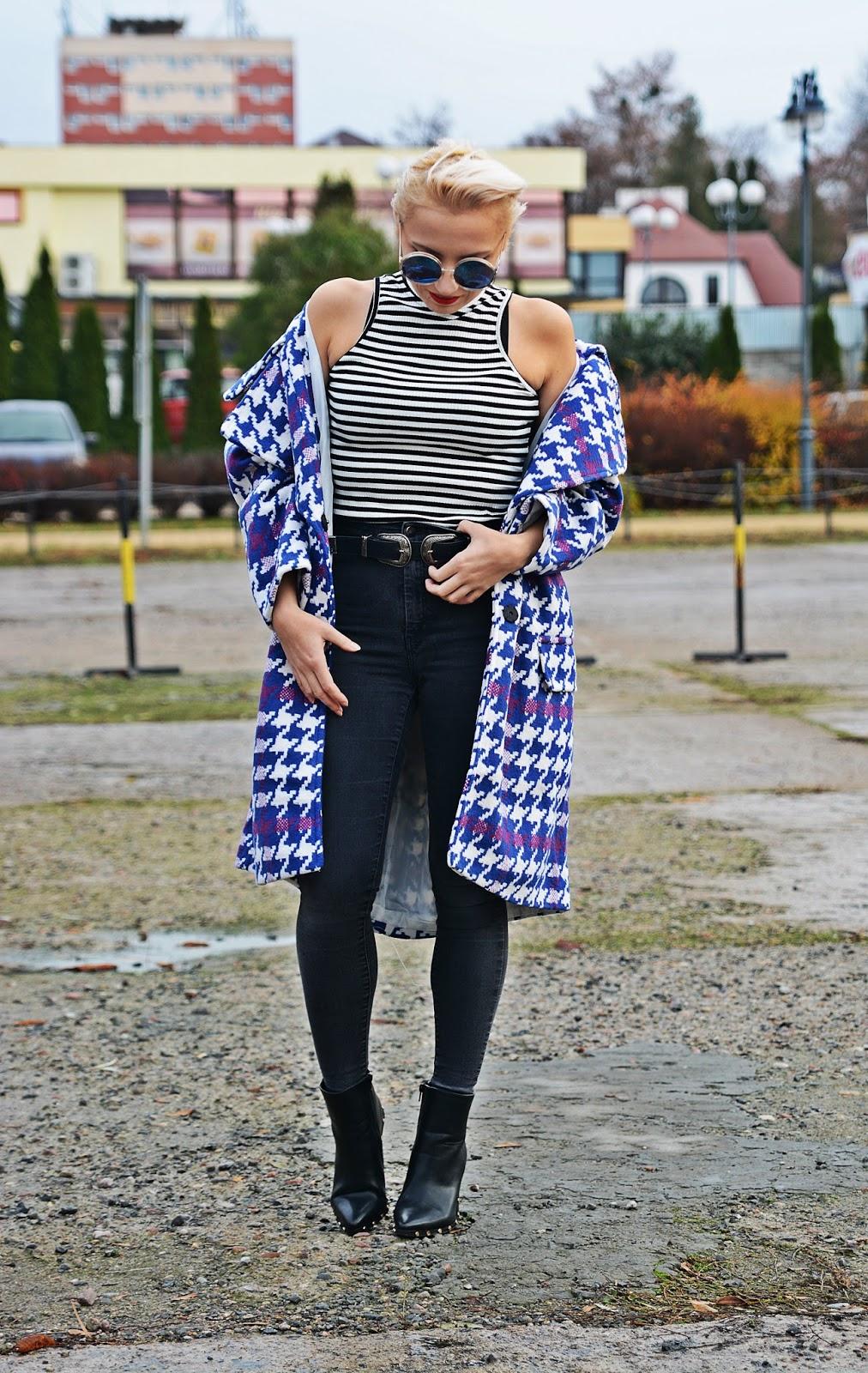 blog_modowy_karyn_oversize_plaszcz_pepitka_fioletowa