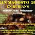 🎇 Gran Magosto 2018 en Rubiáns | 10nov
