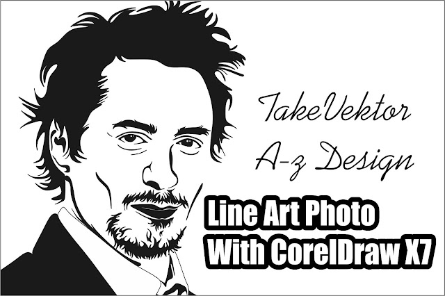 Line Art Photo With Coreldraw X7