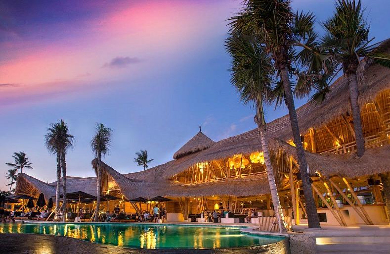 Finns Beach, Club, Bali, Indonesia