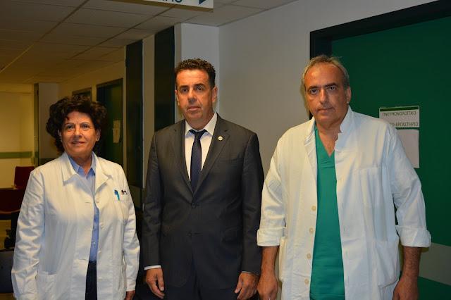 Δημήτρης Κωστούρος: Η μάχη για την υπεράσπιση της λειτουργίας του νοσοκομείου μας συνεχής , σκληρή και καθολική