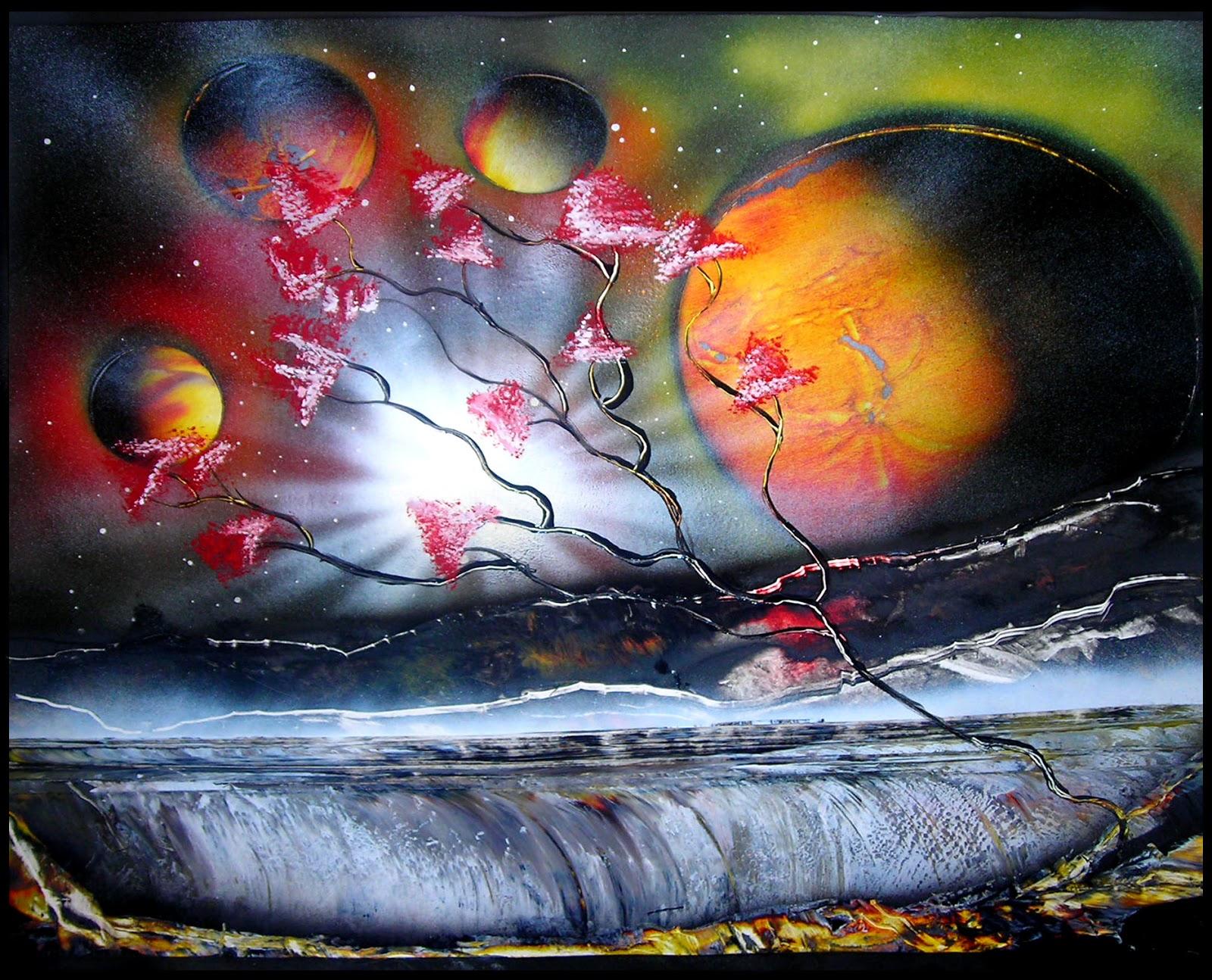 Gevezenin Notları: Spray Boya Sanatı - Kainat ve Cennet ...