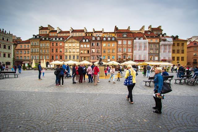 Piazza della città vecchia-Rynek Starego Miasta