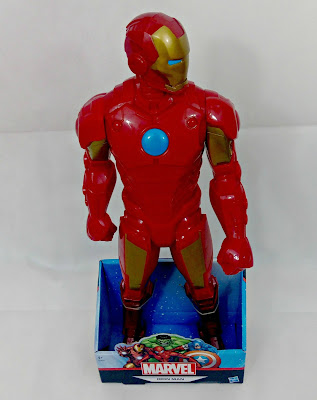 "Large 16"" Iron Man Action Figure"