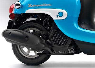2016 Honda Metropolitan rear wheel image