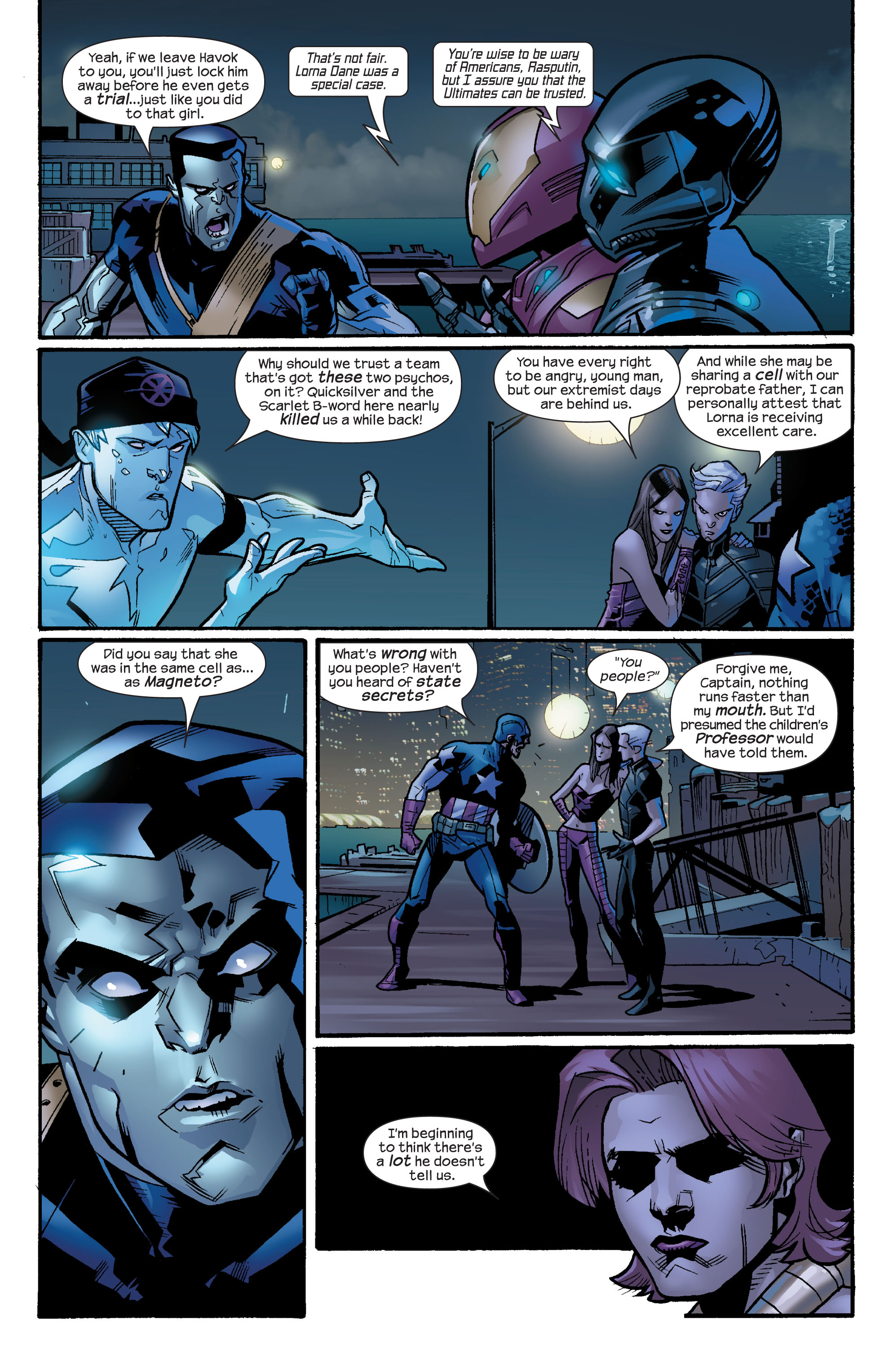 Read online Ultimate X-Men comic -  Issue #64 - 5
