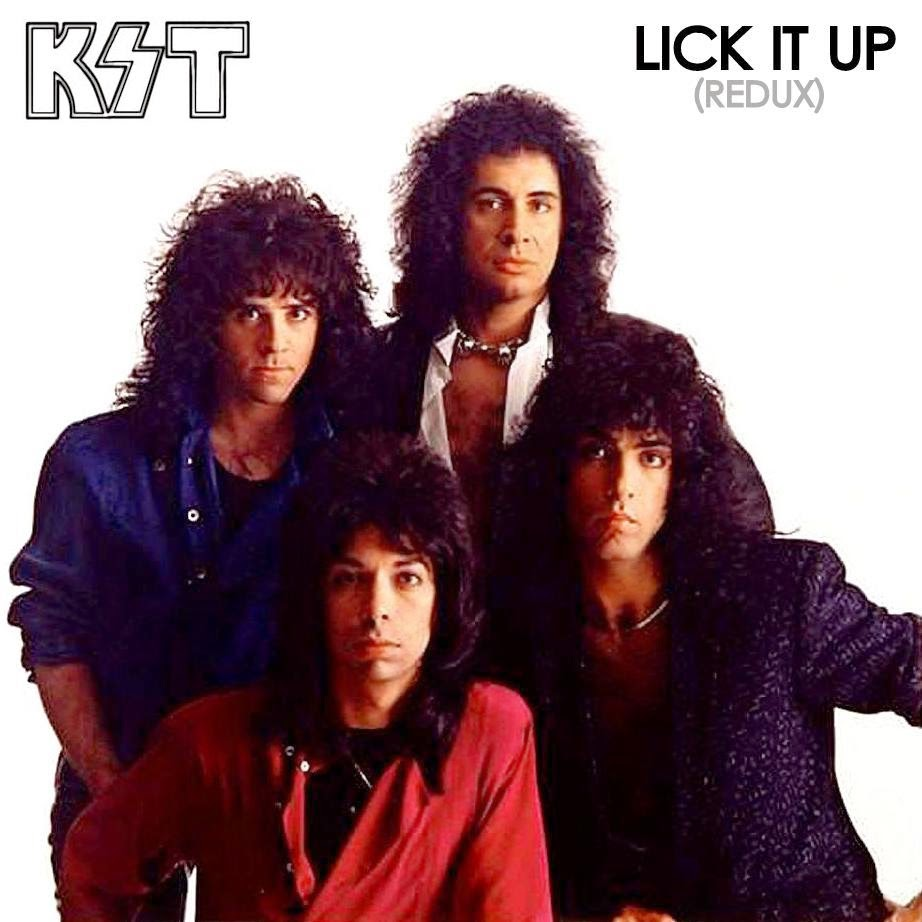 Think, that Kiss lick it up video think, that