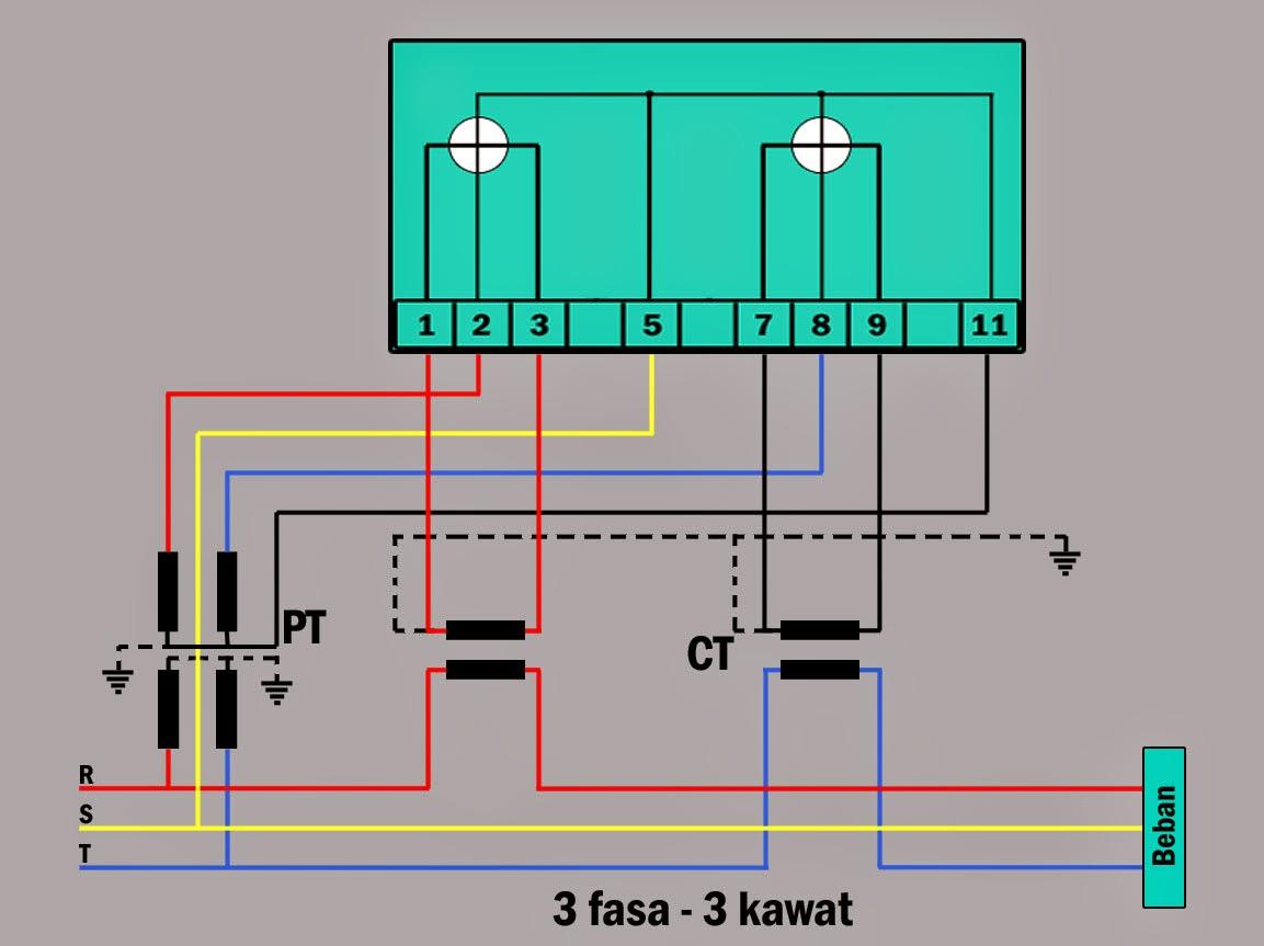 Kwh Meter Wiring Diagram Leviton Dimmer Switch Penggunaan Alat Ukur Dan Pengawatannya Cv Kanaan Jaya