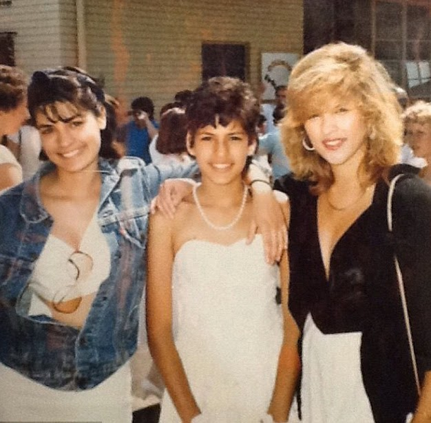 Eva,Mendes,sports,mullet,throwback,snap,leads,celebrities,celebrating,National,Sibling,Day