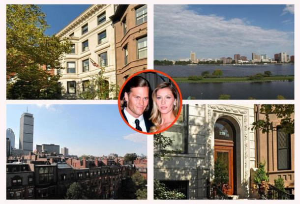 New England Qb Tom Brady And Gisele Bundchen Sell Their: tom brady sells boston homes