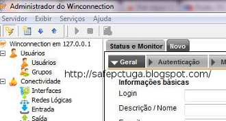 Como bloquear sites na rede Winconnection