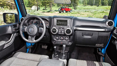 Jeep Rubicon 4 Door Interior and Exterior
