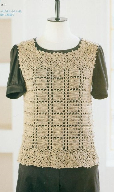 See that beautiful blouse made crochet pattern shop. this with the secrets of this beautiful blouse
