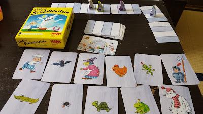 おばけの試験カードゲーム Schloss Schlotterstein