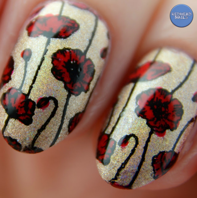 swatch Monroe's Red Orly
