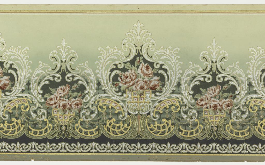 Matin lumineux frises papiers peints anciennes - Papier peint style ancien ...