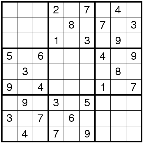 The Logical World of Puzzles: Rules of 'Mirror Sudoku'