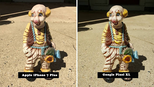 Google Pixel vs Iphone 7 camera comparison