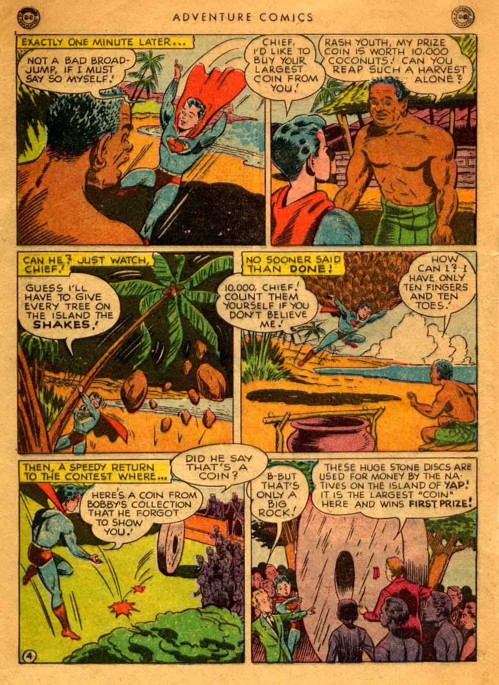 Read online Adventure Comics (1938) comic -  Issue #121 - 6