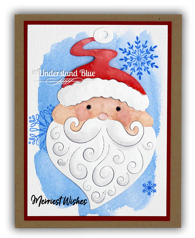 Paper Layering Santa by Understand Blue