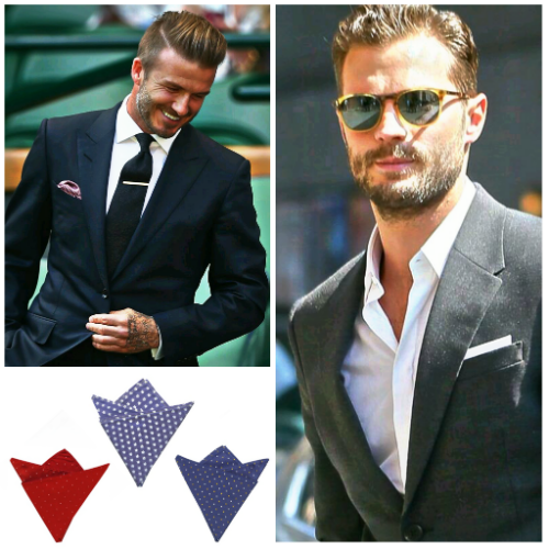 Los mejores pañuelos de bolsillo masculinos