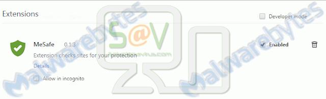 MeSafe (Adware)