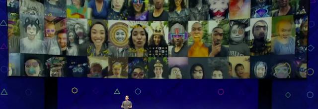 Facebook lança plataforma de realidade aumentada com recursos e efeitos 3D