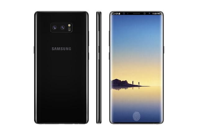 Samsung Galaxy Note9   4K 6.4' Display   Fingerprint Sensor   2018