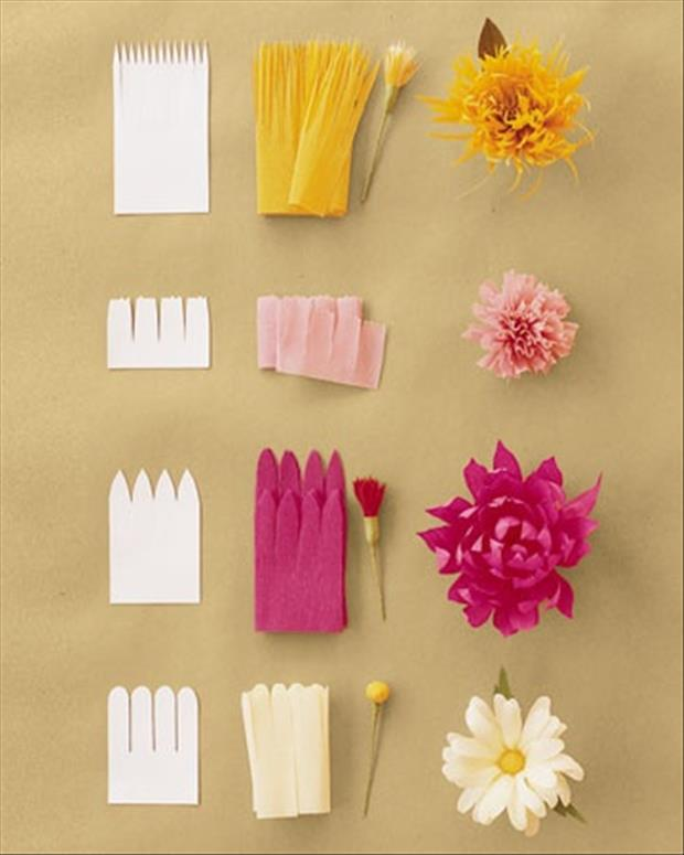 Flower Making Ideas With Paper Image collections - Flower Decoration ...