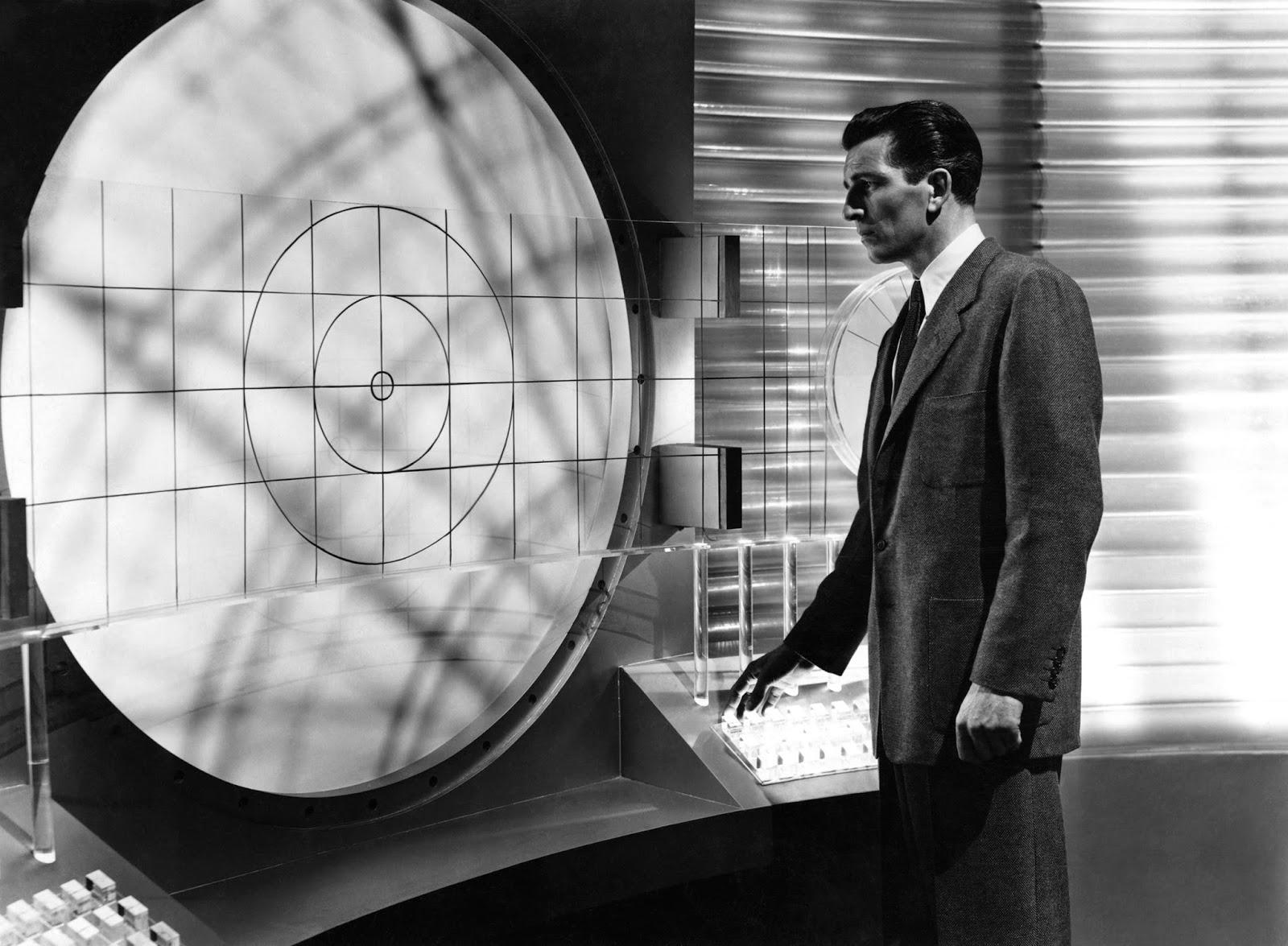 a340e158a7 Michael Rennie in Ultimatum alla Terra di Robert Wise, 1951.