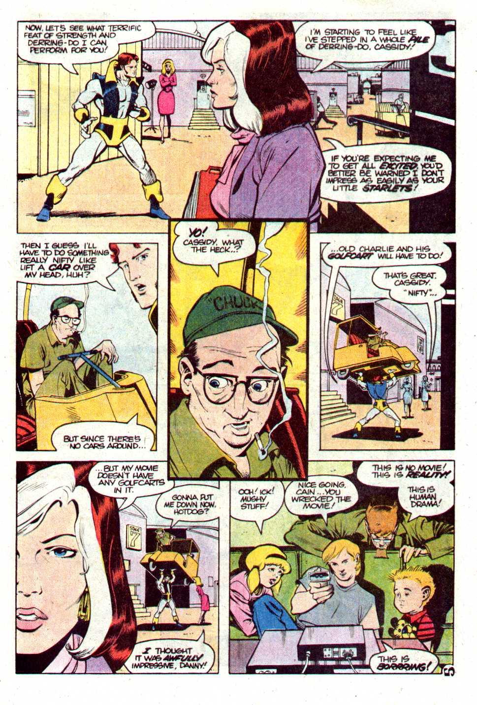 Read online Secret Origins (1986) comic -  Issue #24 - 6