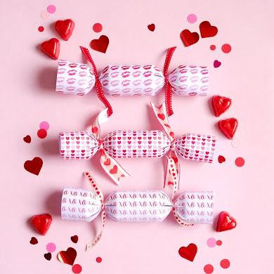 DIY Crackers de Fête pour la Saint-Valentin