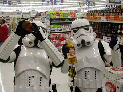 Stormtrooper de star wars de compras