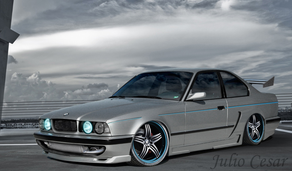 tronix design virtual tuning bmw e34. Black Bedroom Furniture Sets. Home Design Ideas