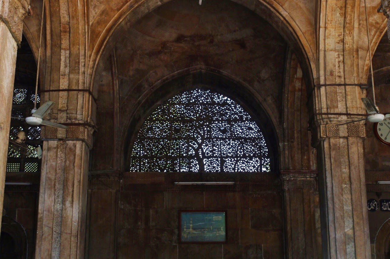 Sidi Saiyyed Mosque Ahmedabad Jali inside tree of life sayed sayeed masjid islam muslim